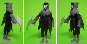 Custom Mask Of The Phantasm Action Figure by GeekVarietyDotCom