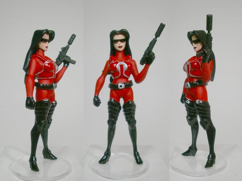 Crimson Guard Baroness Custom Figure by GeekVarietyDotCom