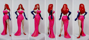 Jessica Rabbit Custom Action Figure