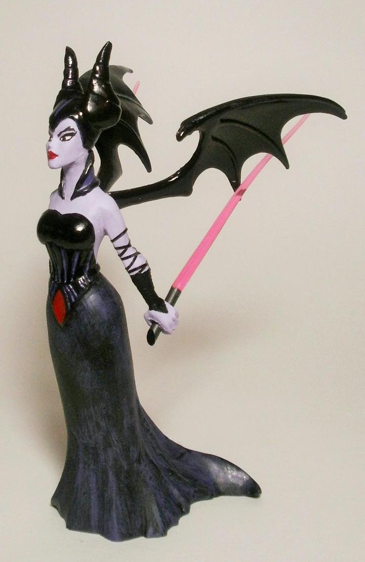 Darth Maleficent Custom Figure REDUX by GeekVarietyDotCom