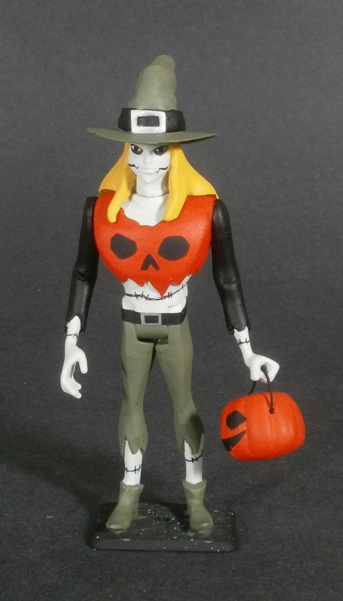 Batman Beyond Ghoul Figure Kit Painted by GeekVarietyDotCom