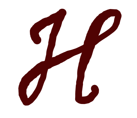 Rough Cursive H by ColoredChromium on DeviantArt
