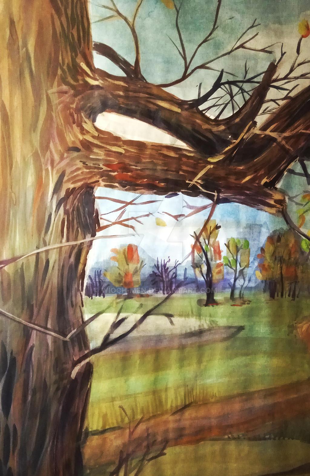 Drzewo by Wioch-Men