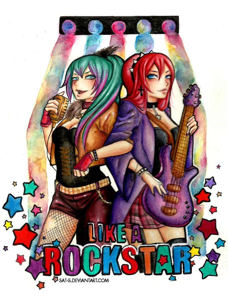 ROCKSTAR-Amber and Alvis- CONTEST by sat-s