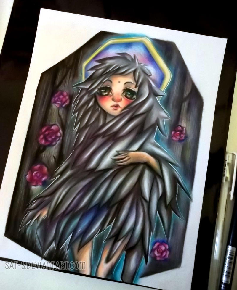 Silver feathers by sat-s
