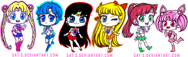 Sailor Senshi by sat-s