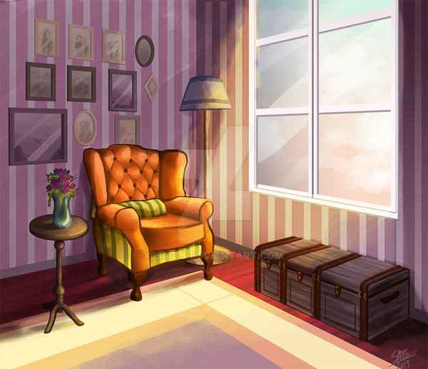 Room- background concept- by sat-s