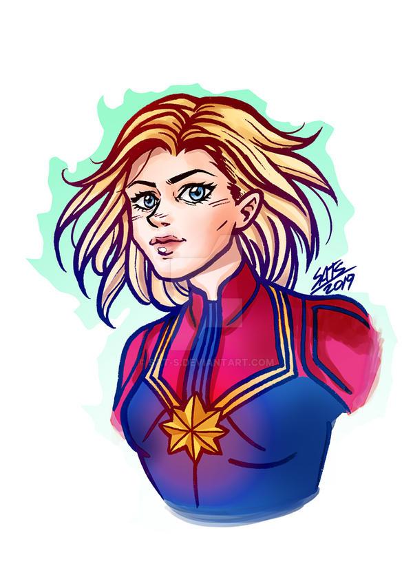 Captain Marvel by sat-s