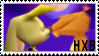 Hunter X Bianca Stamp by X-Leona-Lioness-X