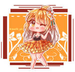 Cutie Koi Girl
