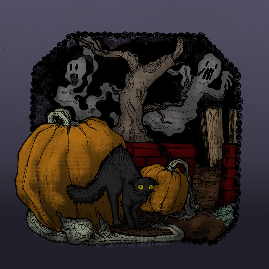 Happy Halloween 2014 by TrashME