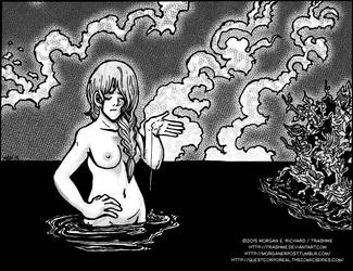 Bathing Woman by TrashME