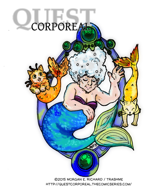 +Quest Corporeal+ Extra- Mer-dame Nickels by TrashME