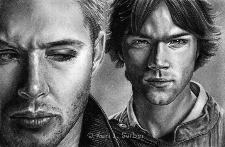 Dean and Sam Winchester by KJS-1