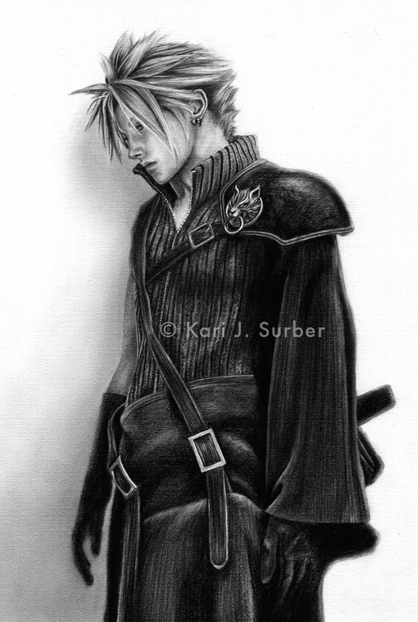 Final Fantasy - Cloud Strife by KJS-1