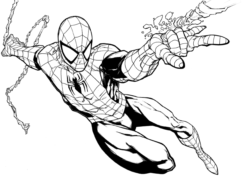 Spiderman by PatC-14 on DeviantArt