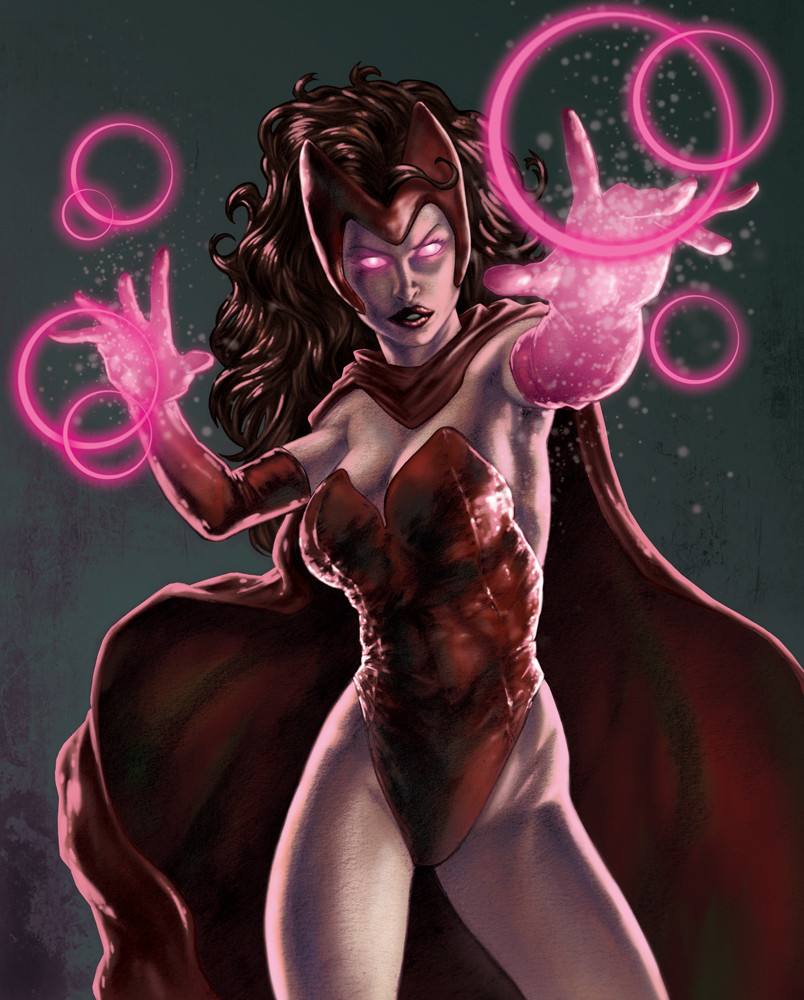 Scarlet Witch by PatC-14