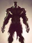 The Hulk colored