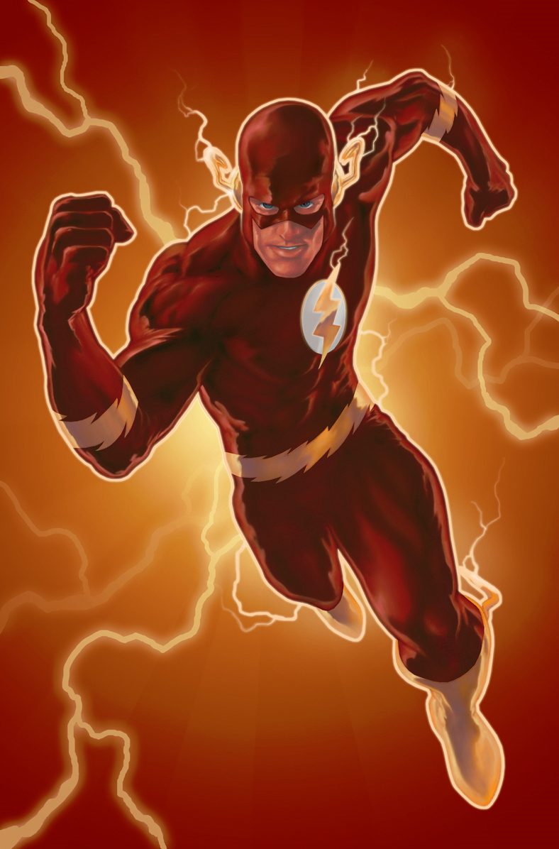 The Flash colored by PatC-14