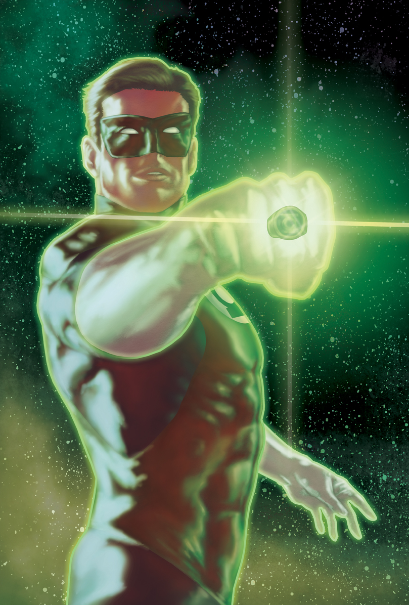 Green Lantern colors by PatC-14