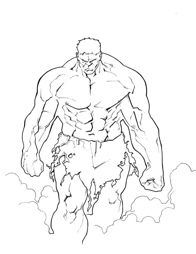 Hulk Walking by PatC-14