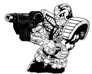 Judge Dredd by PatC-14