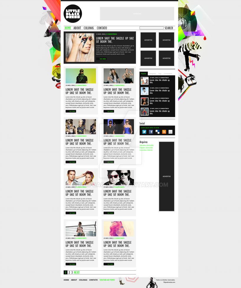 Little Black Dress Blog by filipeaotn
