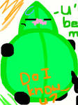 Leafy inflated