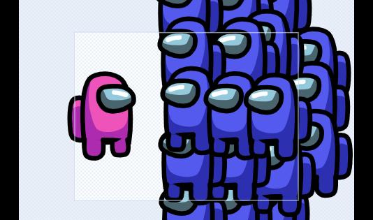 pink form among us x blue 18+