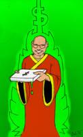 Dalai Lama Delivers (in technicolor)