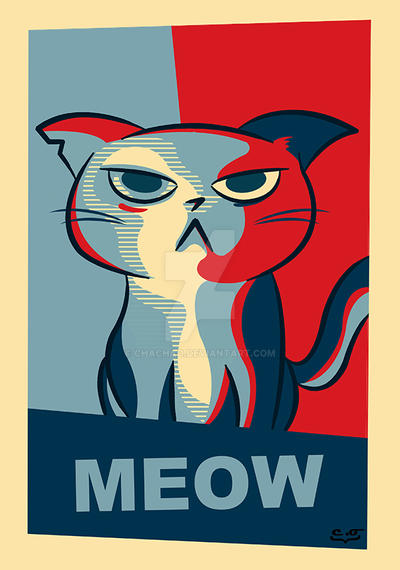Vote for Grumpy Cat by chachao