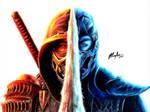Mortal Kombat 2021 - Scorpion and SubZero