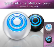 MyBook HDs icons by dgarte