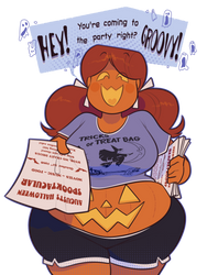 August Halloween invitation by secretgoombaman12345