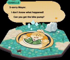 Flattened Isabelle front by secretgoombaman12345