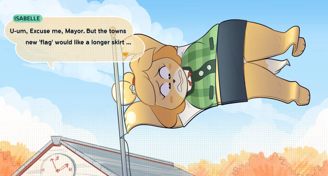 Isabelle isa flag by secretgoombaman12345