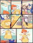 Isabelle dress transformation comic