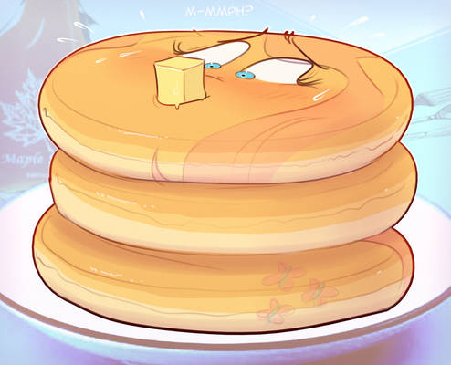 Buttery Fluttershy pancakes
