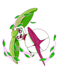 Steenee uses Magical Leaf