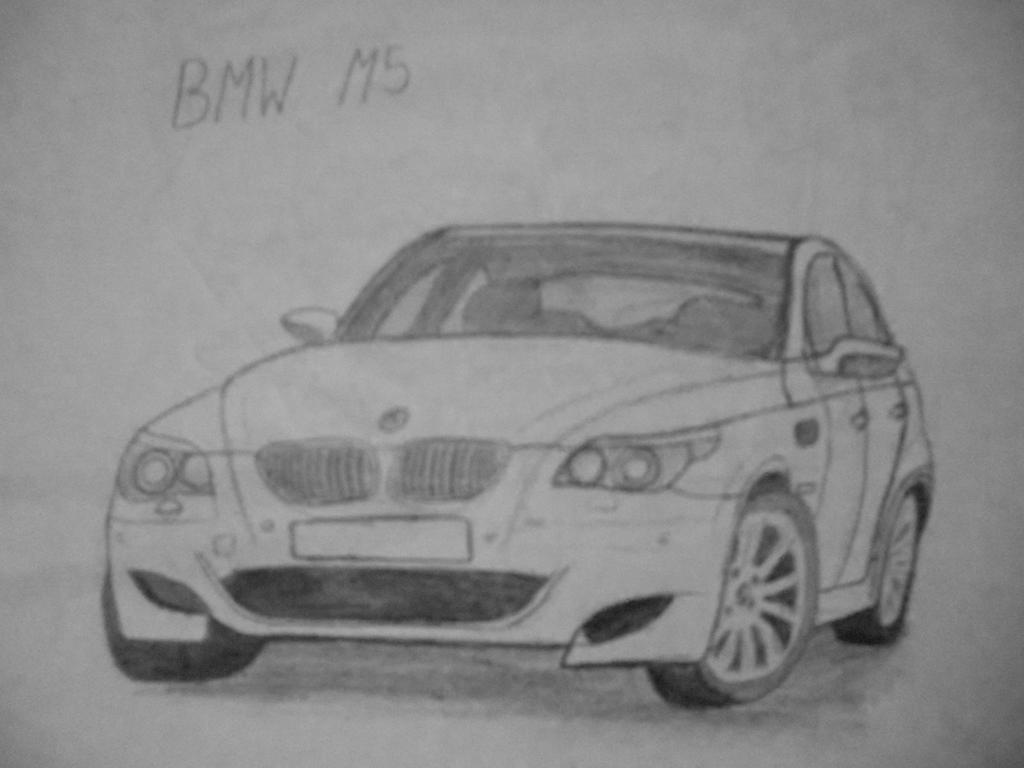 BMW M5 [Car drawing] by Danchix on DeviantArt