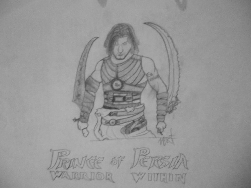 Como Dibujar Al Principe Oscuro: Prince Of Persia: Warrior Within [Cover Drawing] By