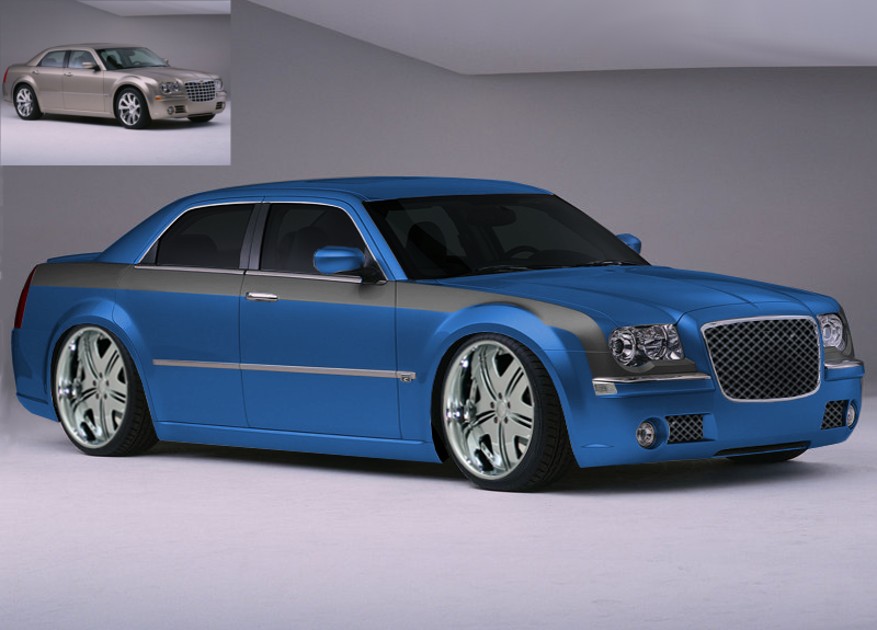 chrysler 300c gimp tuning by danchix on deviantart. Black Bedroom Furniture Sets. Home Design Ideas