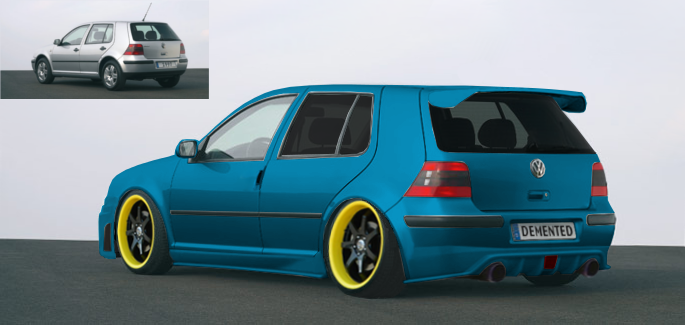 volkswagen golf iv gimp tuning by danchix on deviantart. Black Bedroom Furniture Sets. Home Design Ideas