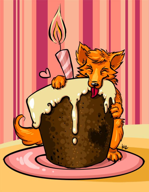 Поздравления с днем рождения от лисы алисы
