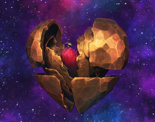 Space Heart by Beffana
