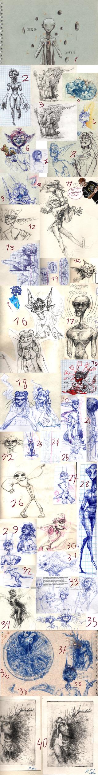 Sketch Dump - 22 by Nepook