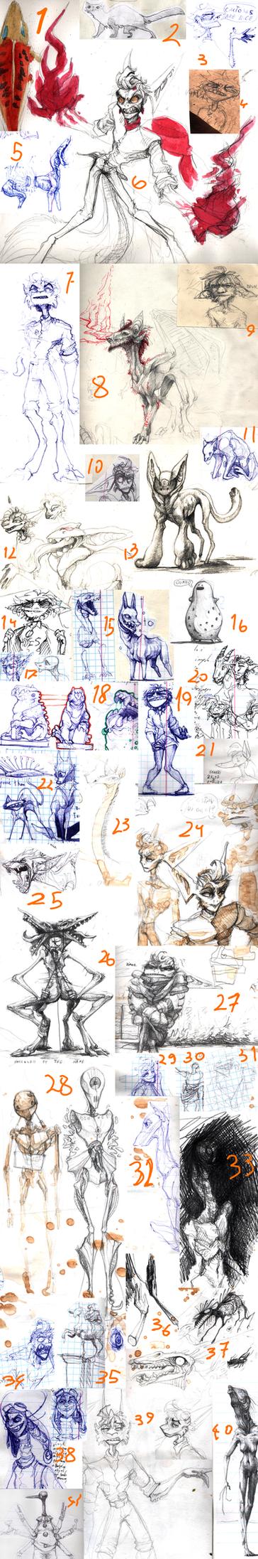 Sketch dump  - 23 by Nepook
