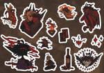 Mylo Sticker pack