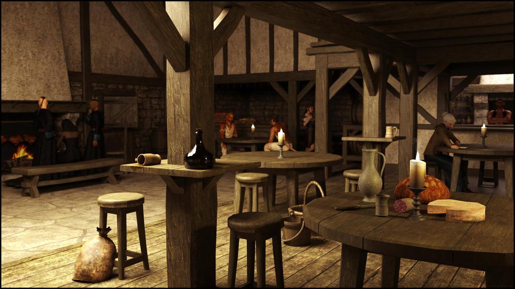 Rusty Troll Tavern by dALilithiel