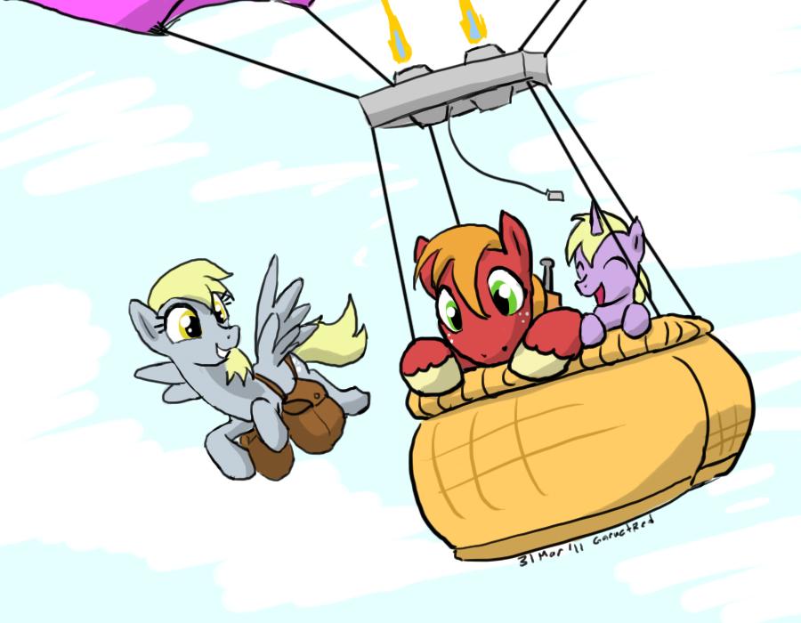 Hot Air Balloon by samutoka
